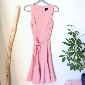 Alex Marie Kyra Light Pink Dress 6 (M) NWT